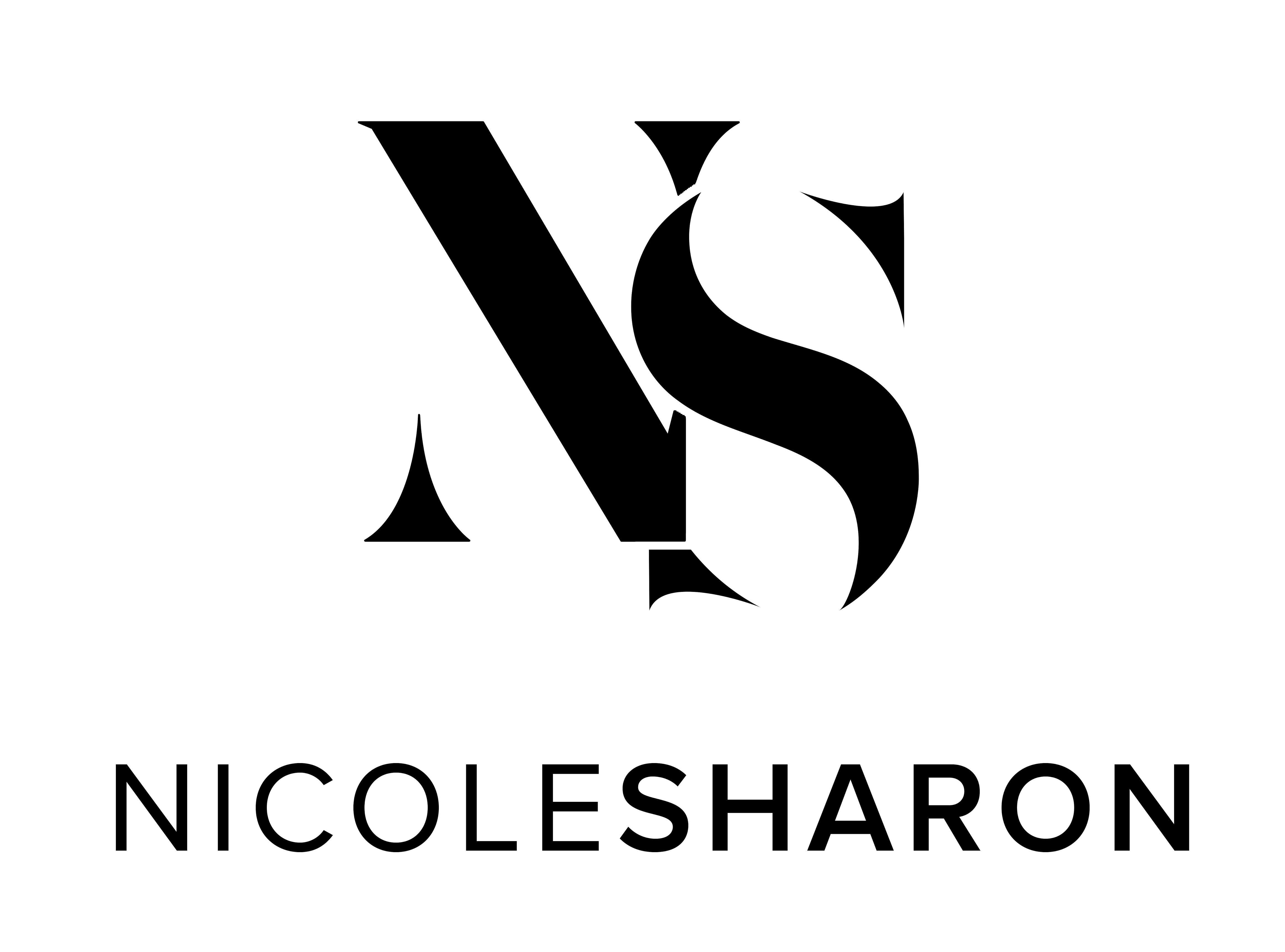 nicolesharonlogo_black